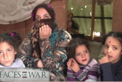 'Faces of War' tells Syrian refugees' stories