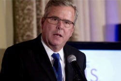 'Jeb Bush is in the race for President'
