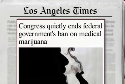 Congress ends ban on medical marijuana