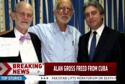 Three Cuban prisoners released