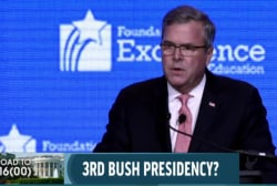GOP rivals prepare for Jeb Bush