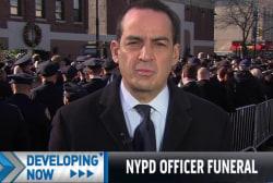 Reiss: Officers turned backs to de Blasio
