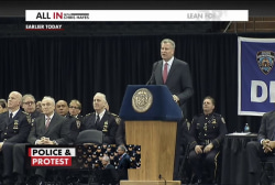 The NYPD versus Mayor Bill de Blasio