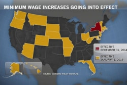 20 states to raise minimum wage