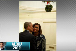How the Obamas rang in the New Year