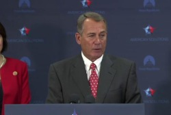 Boehner deals with 2015's first big headaches