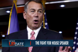 Boehner gets challengers for Speaker