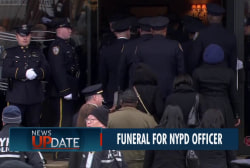 De Blasio to speak at NYPD officer's funeral