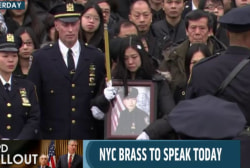 Second slain NYPD officer laid to rest