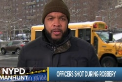 Suspect arrested in shooting of NYPD officers