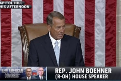 Boehner's in charge, but is he in control?