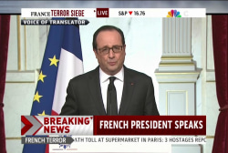 Pres. Hollande: A 'tragedy for the nation'