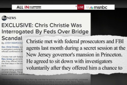 Prosecutors interrogate Christie on...