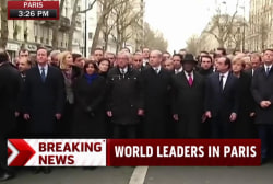 World leaders gather in Paris