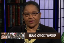 Selma's youngest marcher recounts movement