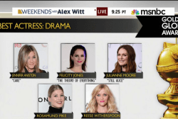 A-List nominees headline 2015 Golden Globes