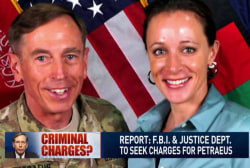 Could David Petraeus face charges?