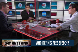 Attack sparks debate on free speech