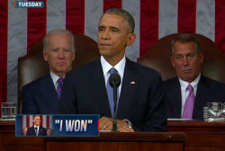 Was this SOTU address Obama's best speech...