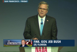 Republican divide over Jeb Bush