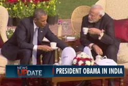 Obama makes historic trip to India