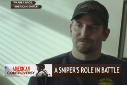 Film sparks debate on snipers' role in battle