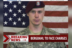 Bergdahl charged with desertion