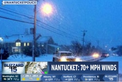 Winds, heavy flooding hit Massachusetts coast