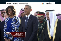 Should Michelle Obama have worn a headscarf?