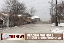 New England braces for more snow