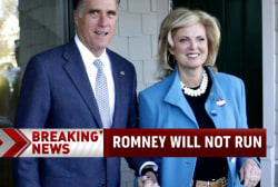 Romney says 'no' to 2016 campaign