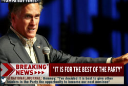 Were future Romney runs met with hesitation?