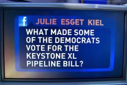 Pro-oil Dems vote for KXL