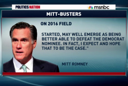 Mitt Romney says he's out in 2016