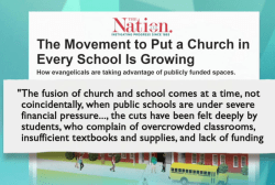 More schools turn into churches on weekends