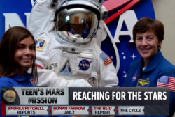 13-year-old aims for the moon