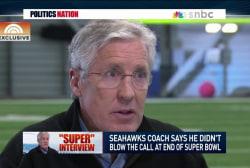 Pete Carroll on Super Bowl: 'I cried'