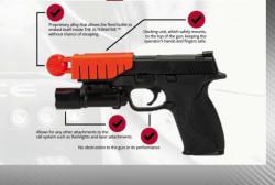 Ferguson police test 'less lethal' device
