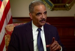 'I am Eric Holder and I'm proud of that fact'