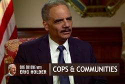 Eric Holder: Voting rights 'under threat'