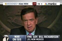 Former governor talks foreign policy