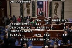 Keystone bill's passage sets up Obama veto