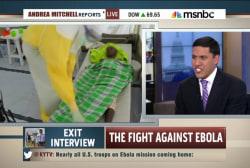 Fight against Ebola still not over