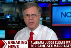 Alabama judge clears way for gay marriages