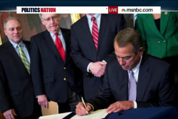 The Keystone signing ceremony fail