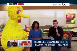 FLOTUS, Big Bird, and Billy Eichner team up