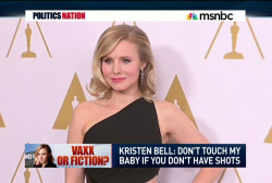 Kristen Bell speaks out on vaccines