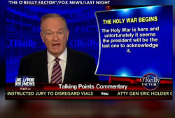 Why is Bill O'Reilly talking about 'holy...
