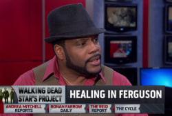'Walking Dead' star headed to Ferguson
