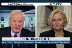 DHS funding fight reaching last-minute...
